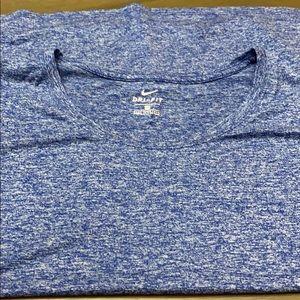 🎈3 for $15. NWOT Nike Dri-Fit blue marled tee. 1X